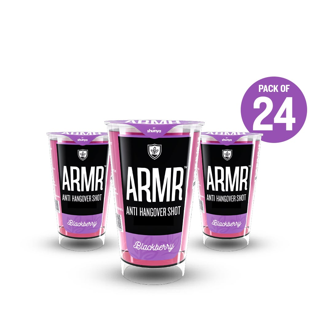 Anti Hangover Shot - Blackberry(Pack of 24)