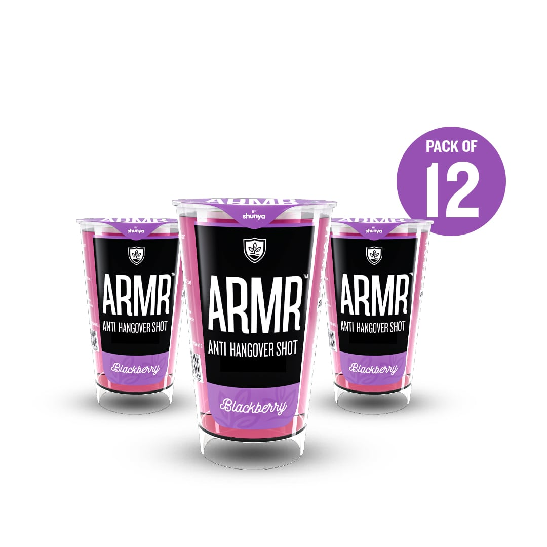 Anti Hangover Shot - Blackberry(Pack of 12)