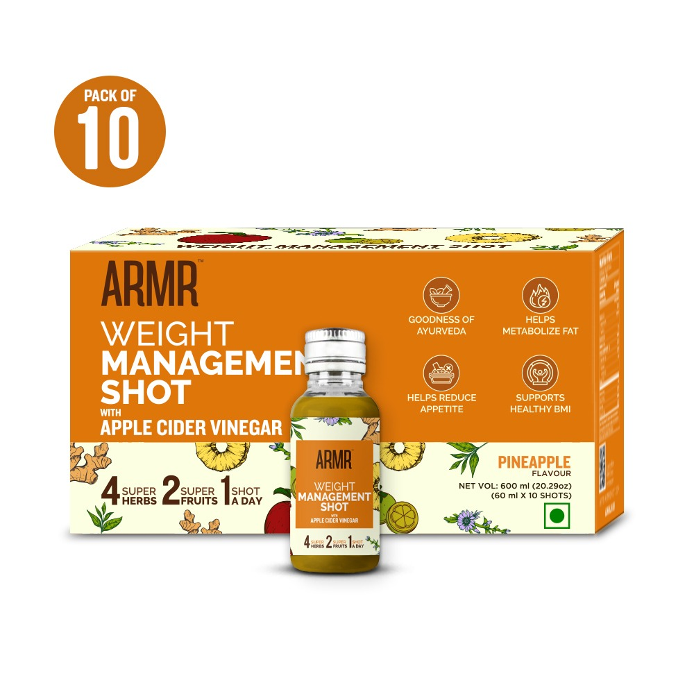 Weight Management Shot with Apple Cider Vinegar  (Pack of 10)