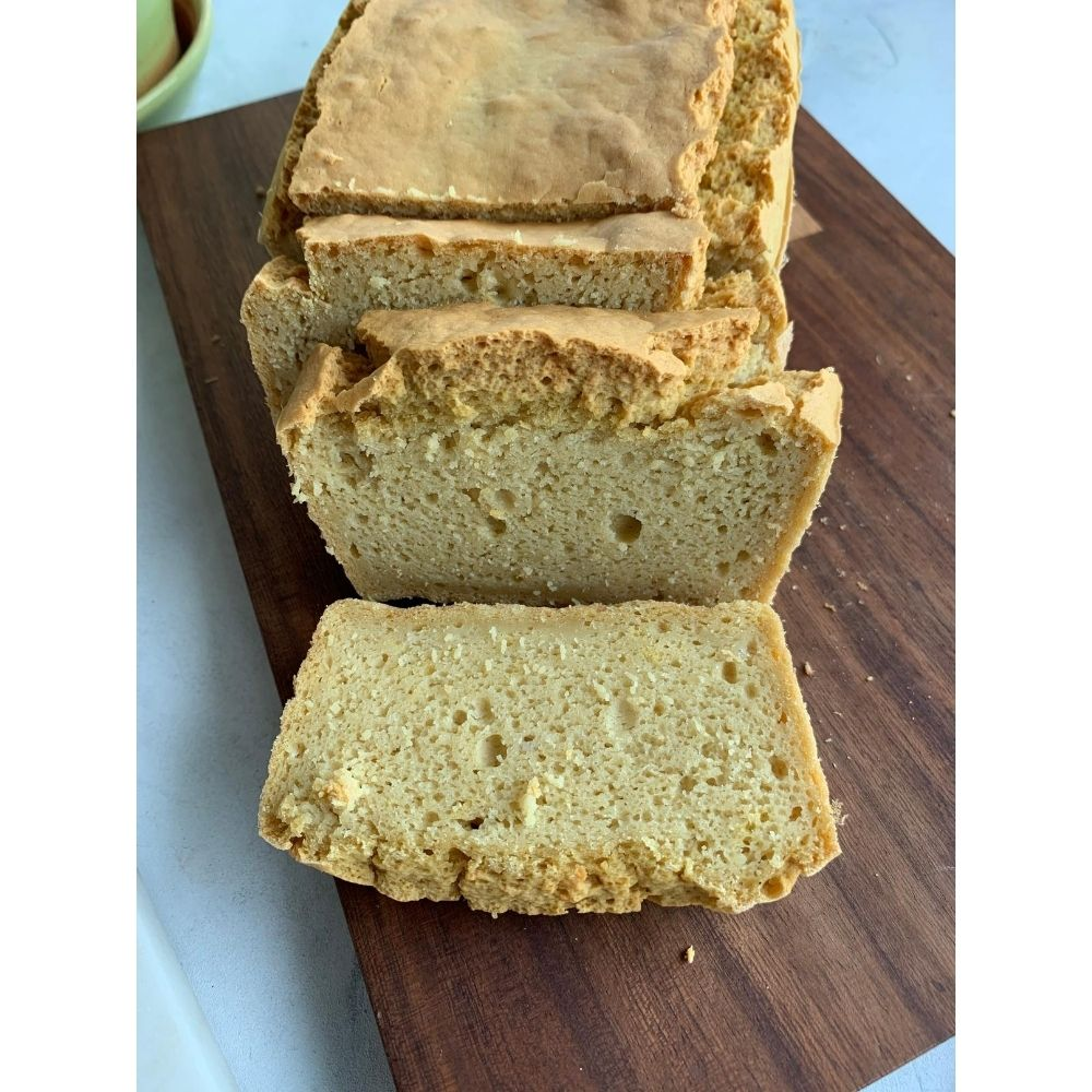Chickpea and Rice Flour Bread Loaf
