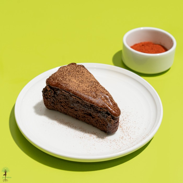 Mexican Chilli Chocolate Cake Slice