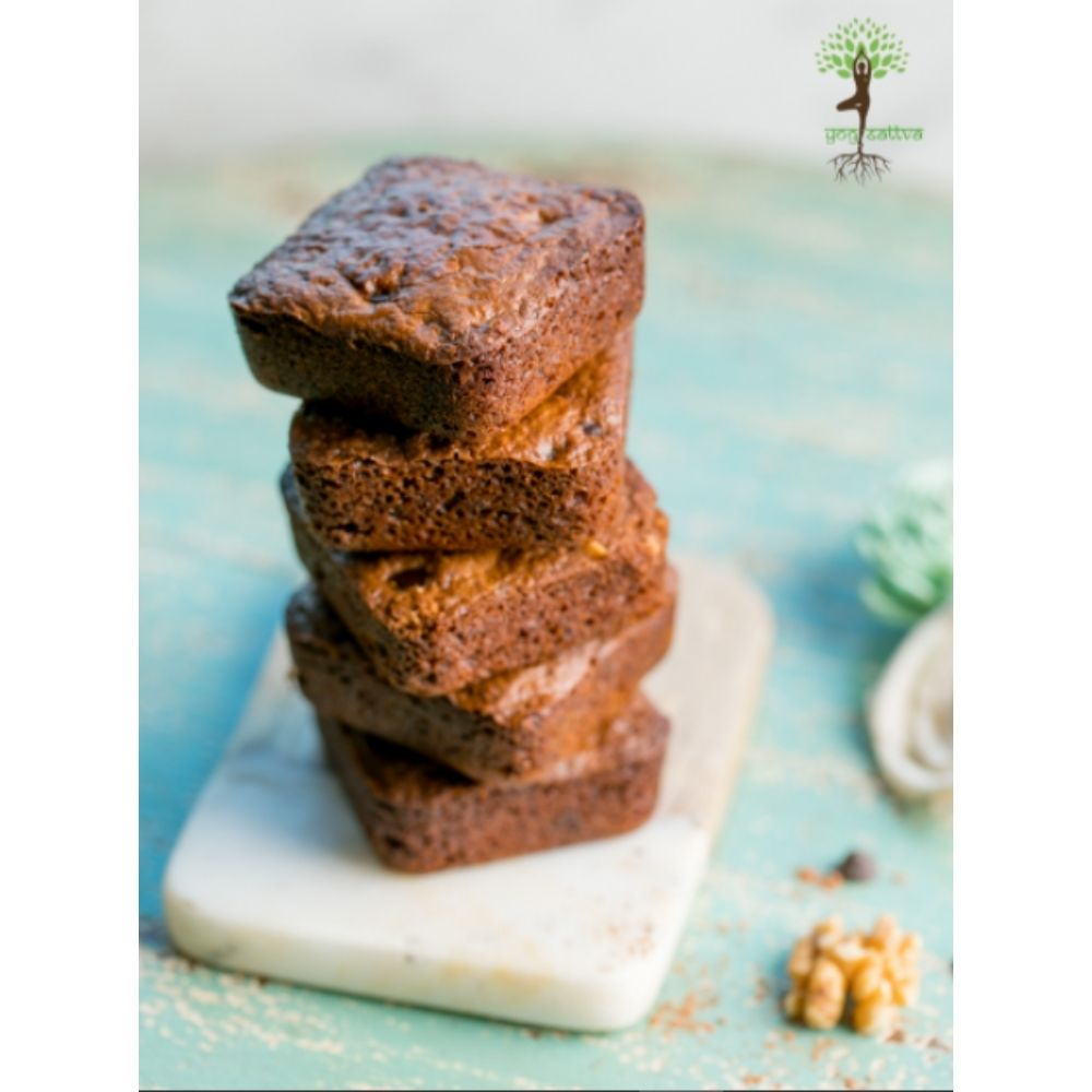 Raw Cacao and Walnut Brownies - Box of 4