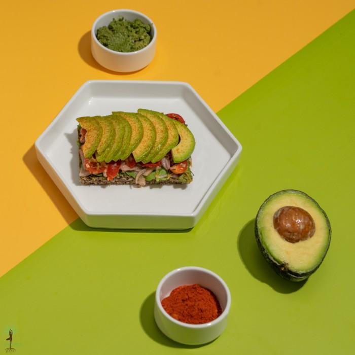 Mexican Avocado on Toast