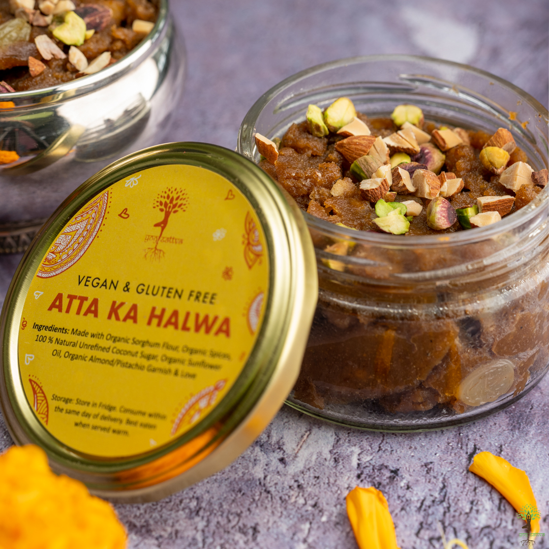 Gluten Free Atta Ka Halwa (150gms)
