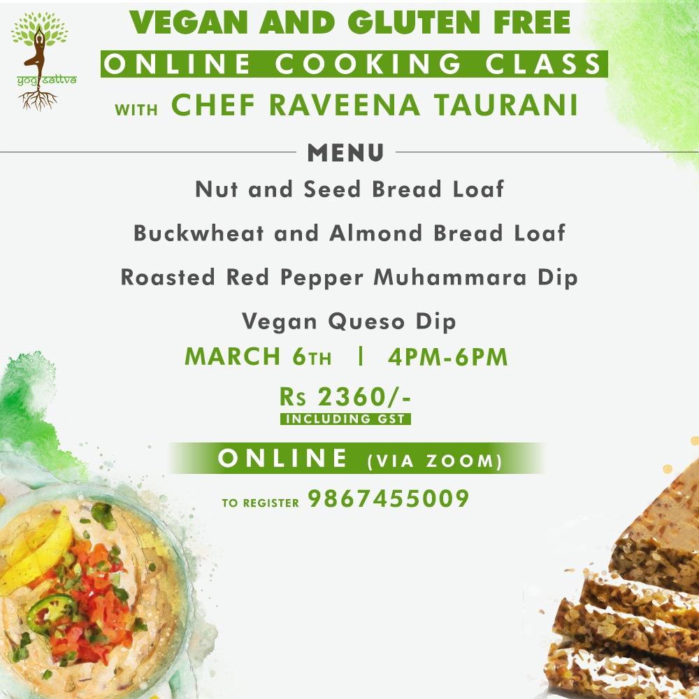 Vegan & Gluten Free Breads & Spreads (ONLINE)