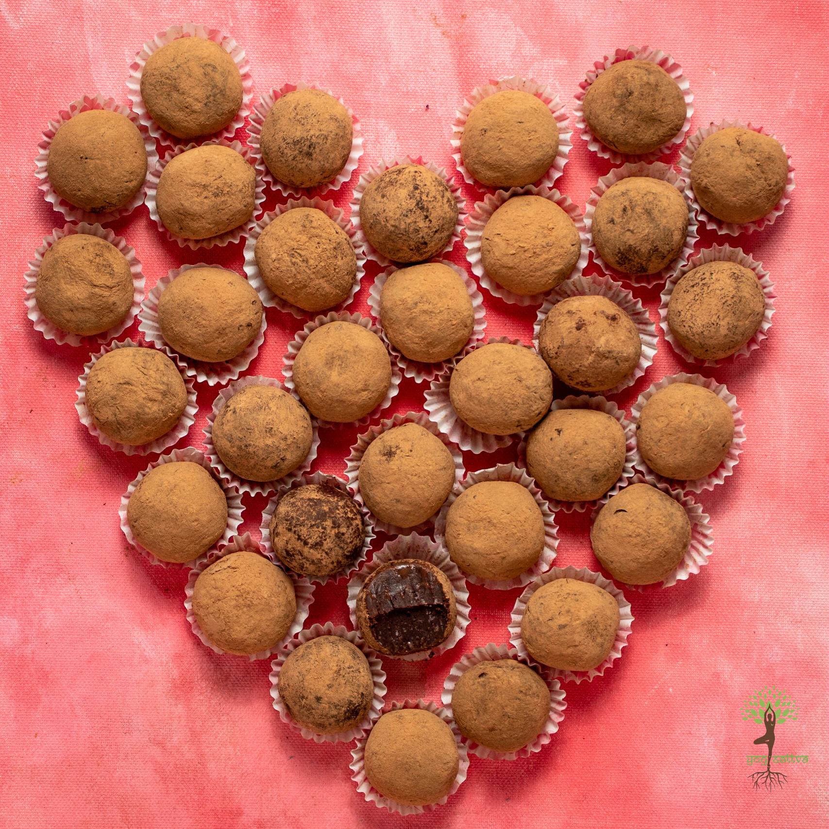 Vegan Dark Chocolate Truffles (Box of 12)