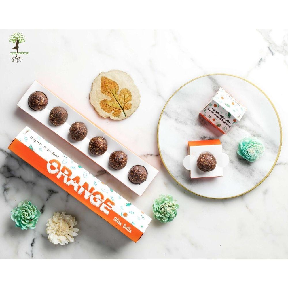 Raw Cacao & Orange Bliss Balls - Box of 6