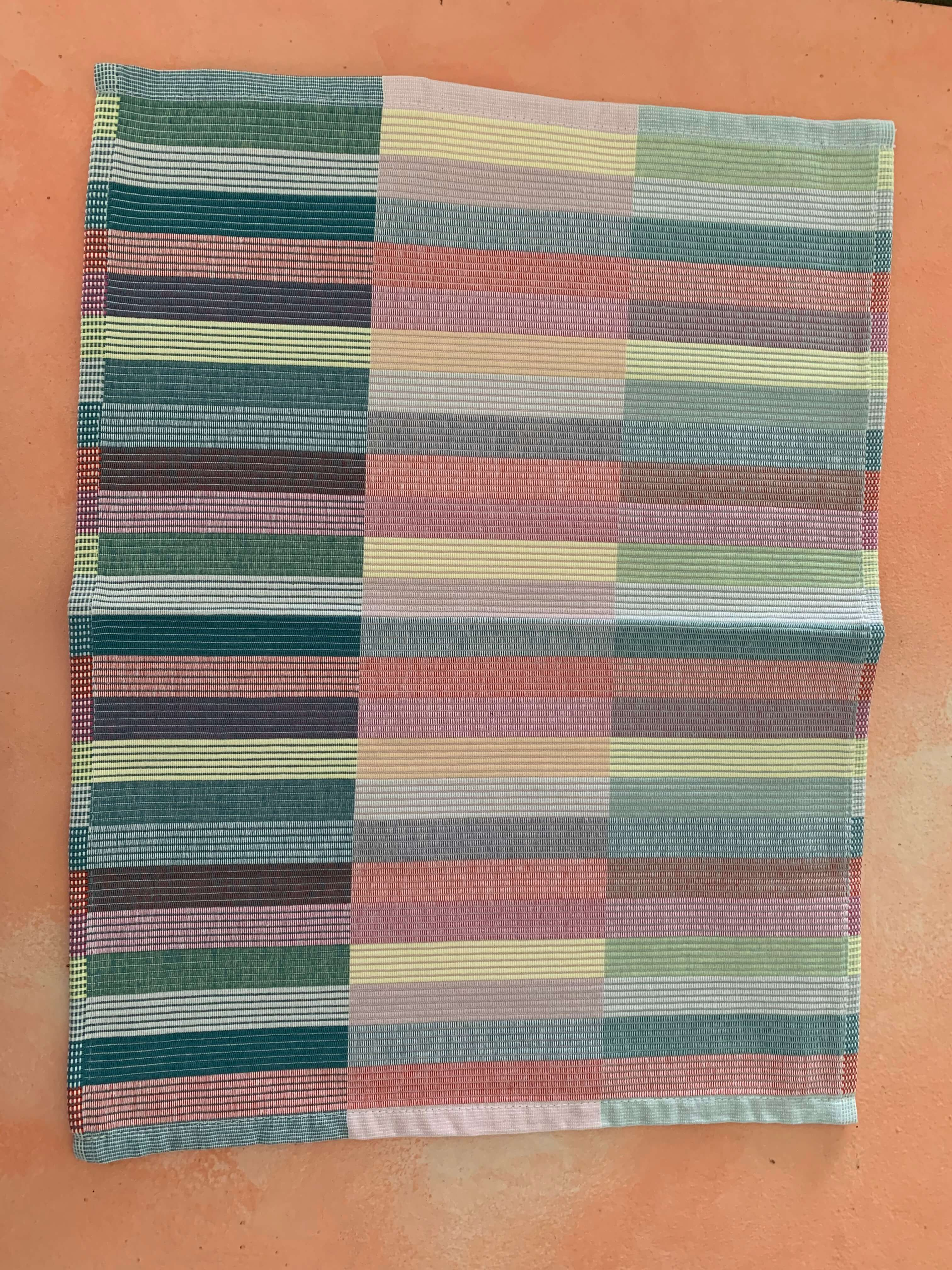 Pre-Loved Multi Coloured Cloth Table Mat (Set of 8)