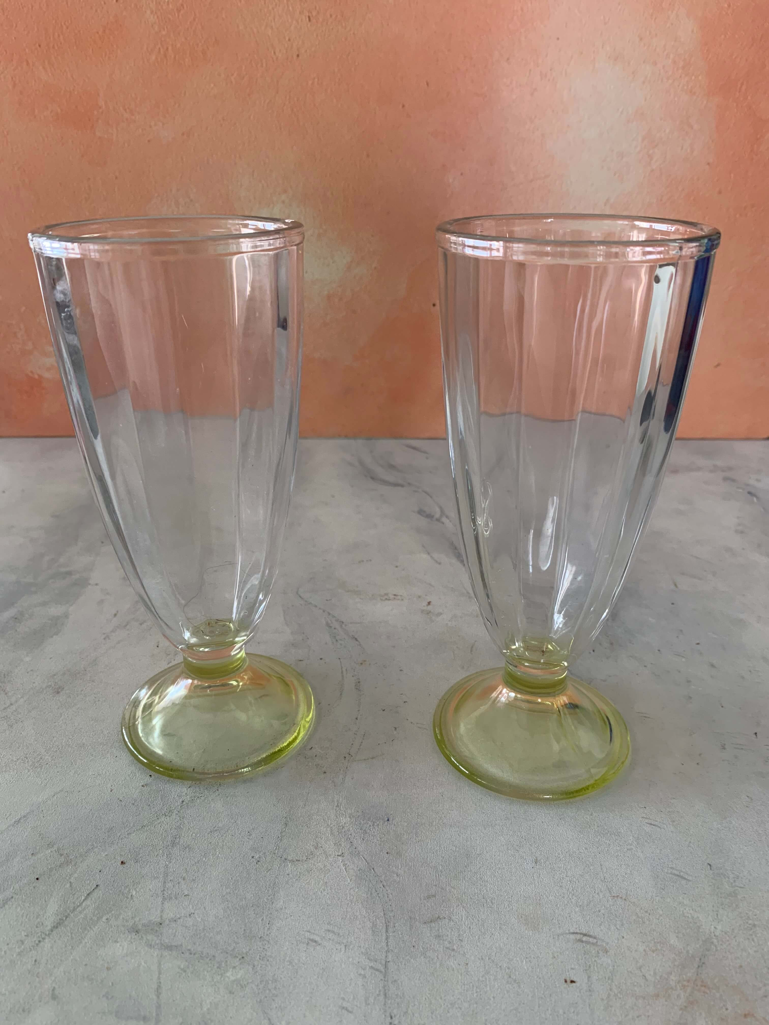 Tall Ice Cream Glasses (Set of 2) NEW