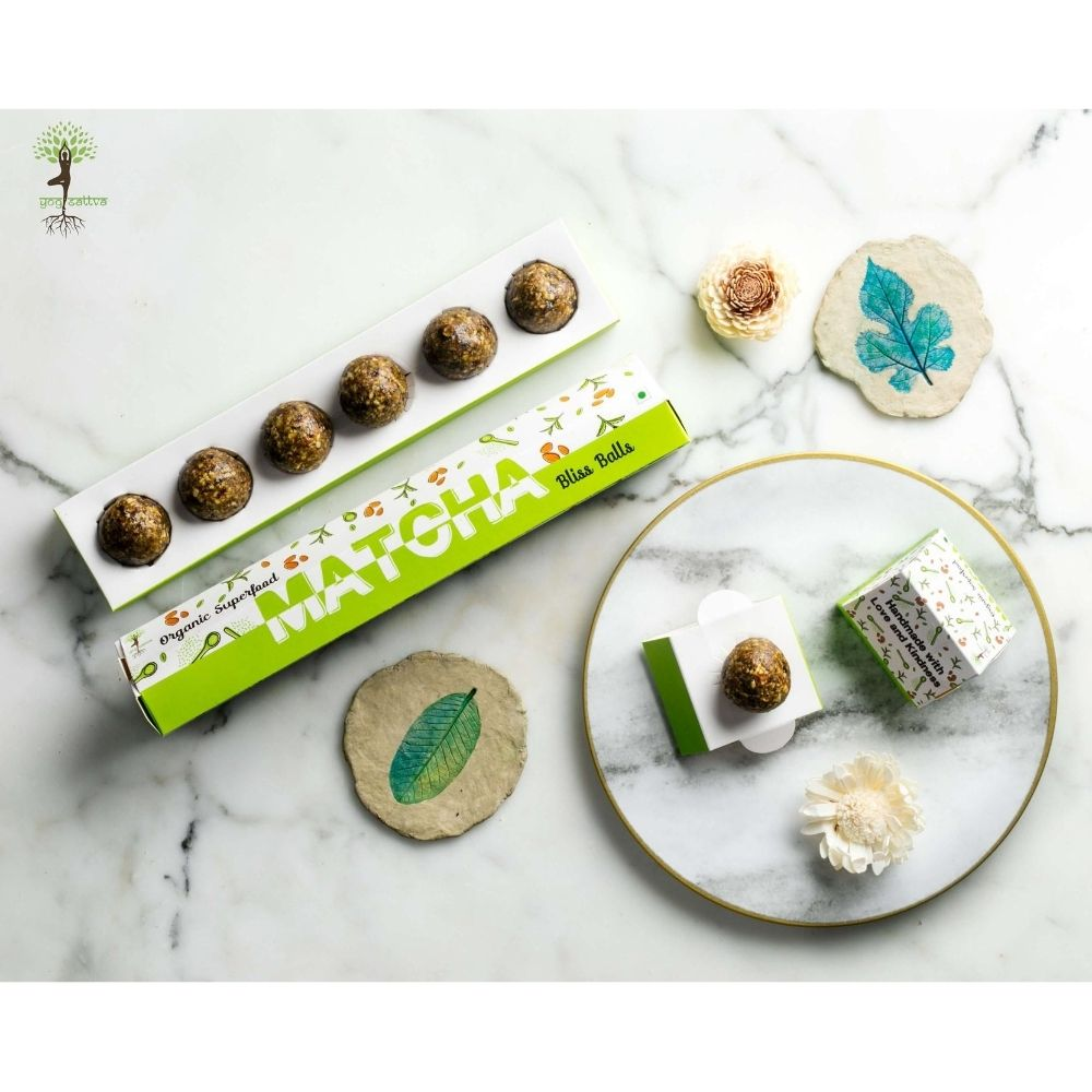 Matcha & Almond Bliss Balls - Box of 6