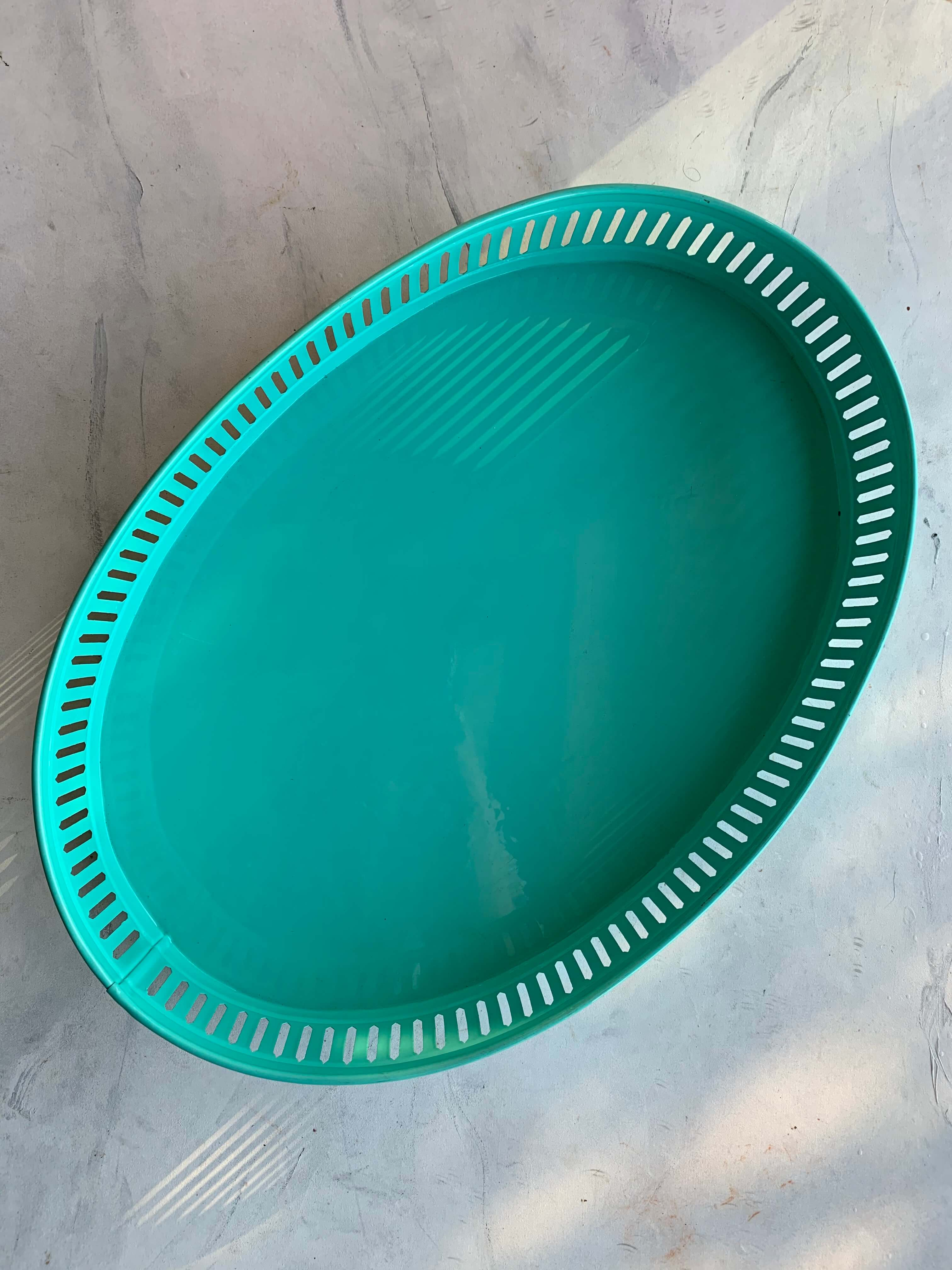 Pre-Loved Oval Shaped Serving Tray