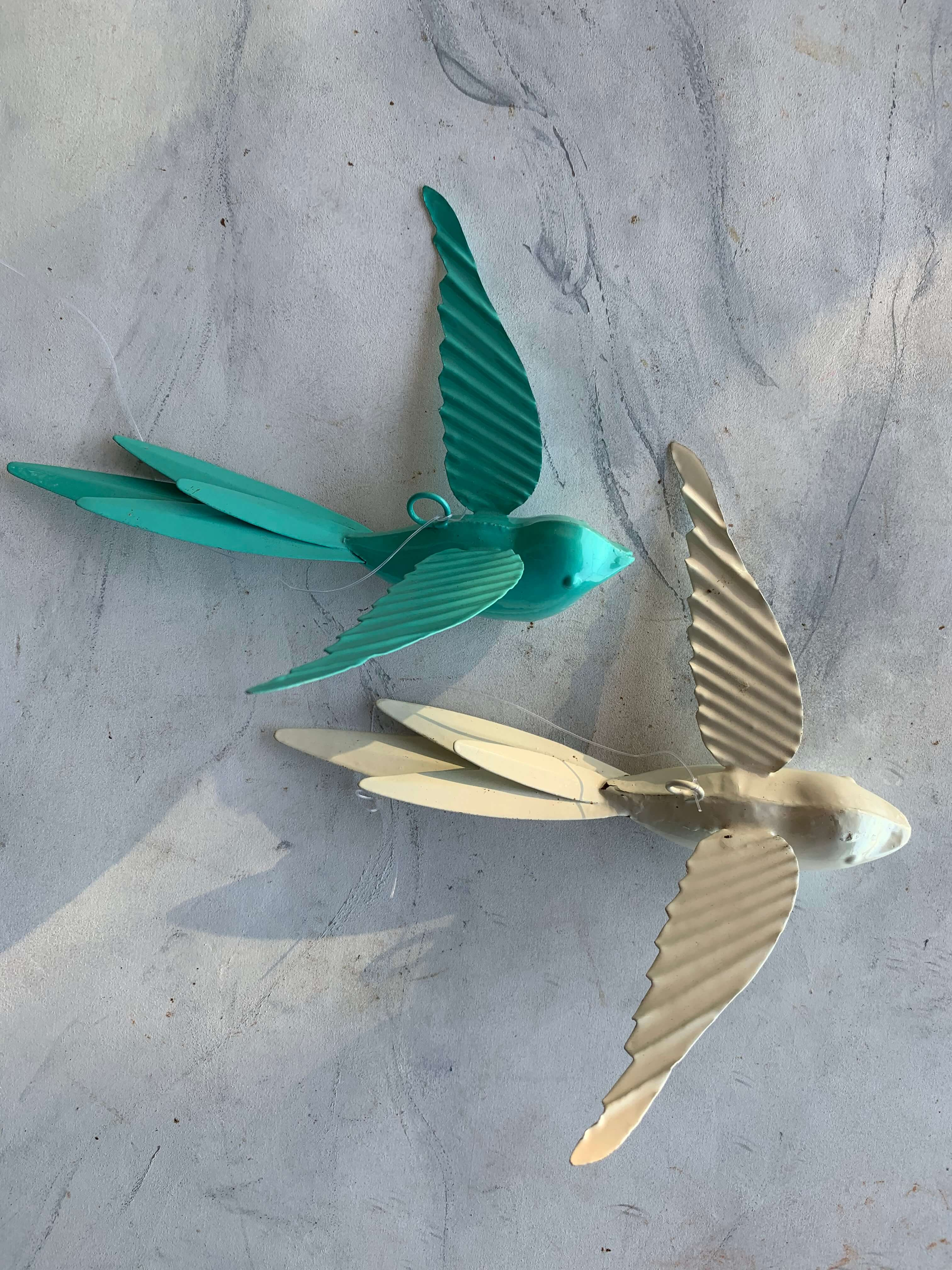 Pre-Loved Bird Ornaments (Set of 4)