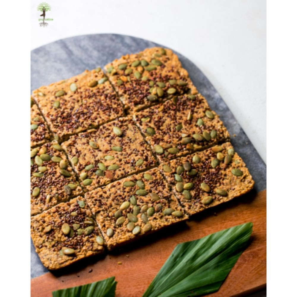 Oat and Seed Flatbread (6 slices)